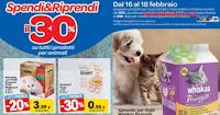 Logo Carrefour : Spendi&Riprendi il 30% sui prodotti per animali