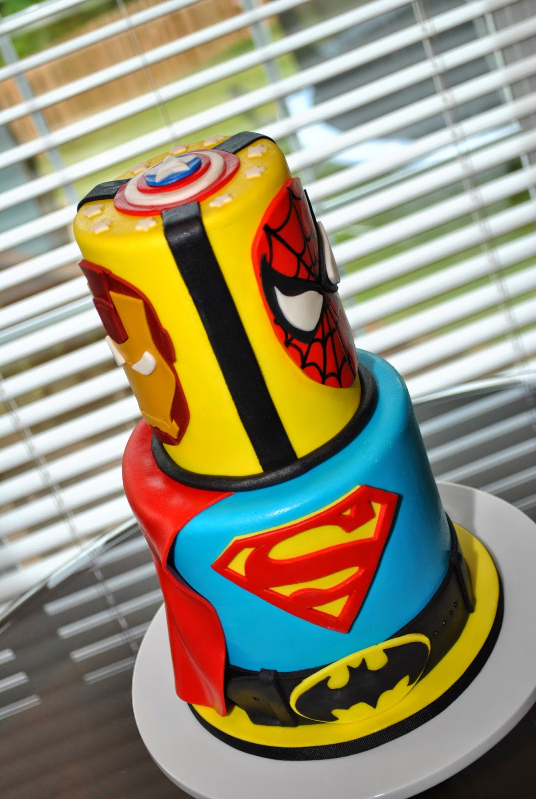Hope S Sweet Cakes Super Hero Cakes