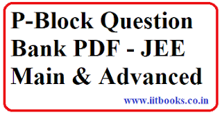 p block practice question bank for JEE Main