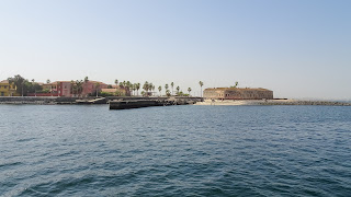 The ride takes about 20 minutes from Port of Dakar
