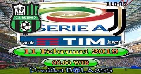 Prediksi Bola855 Sassuolo vs Juventus 11 Februari 2019