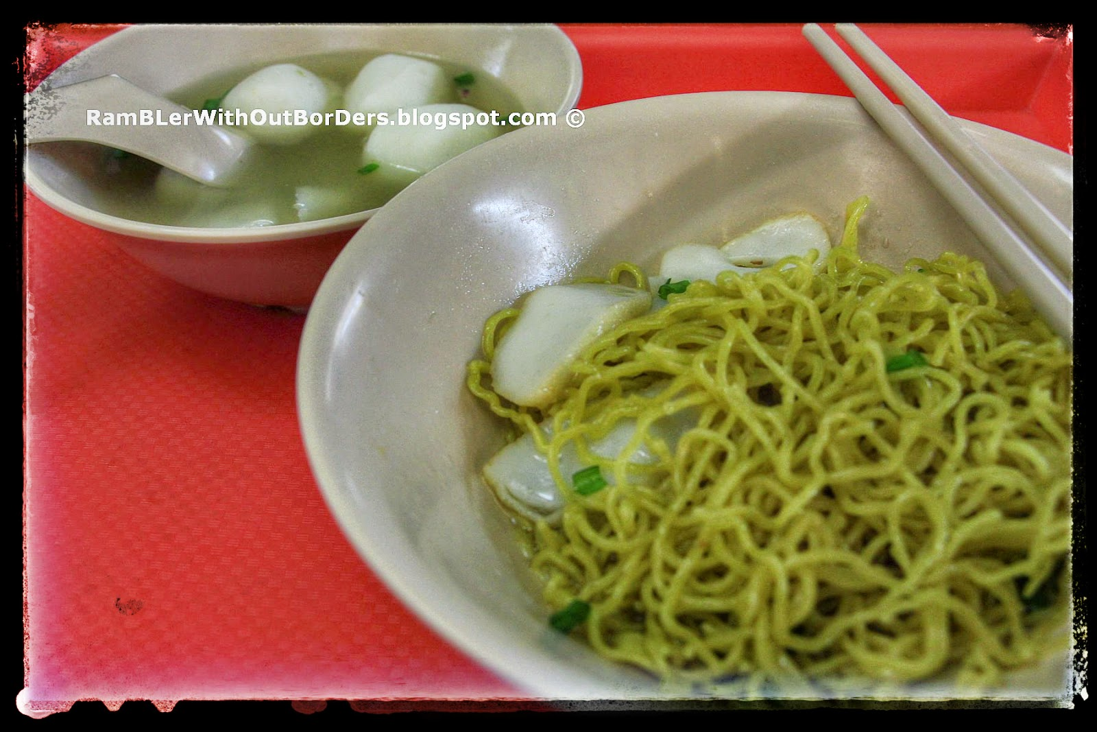 Ming Fa Fishball, Holland Village Food Centre, Singapore