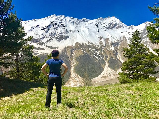 Janiina Ojanen Kaukasus vuorikiipeily