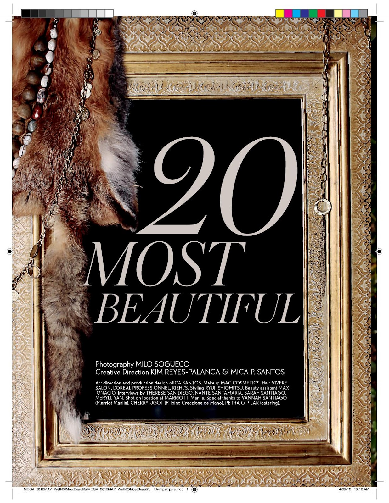 Fashion Victim Diaries: MEGA Magazine 20 MOST BEAUTIFUL