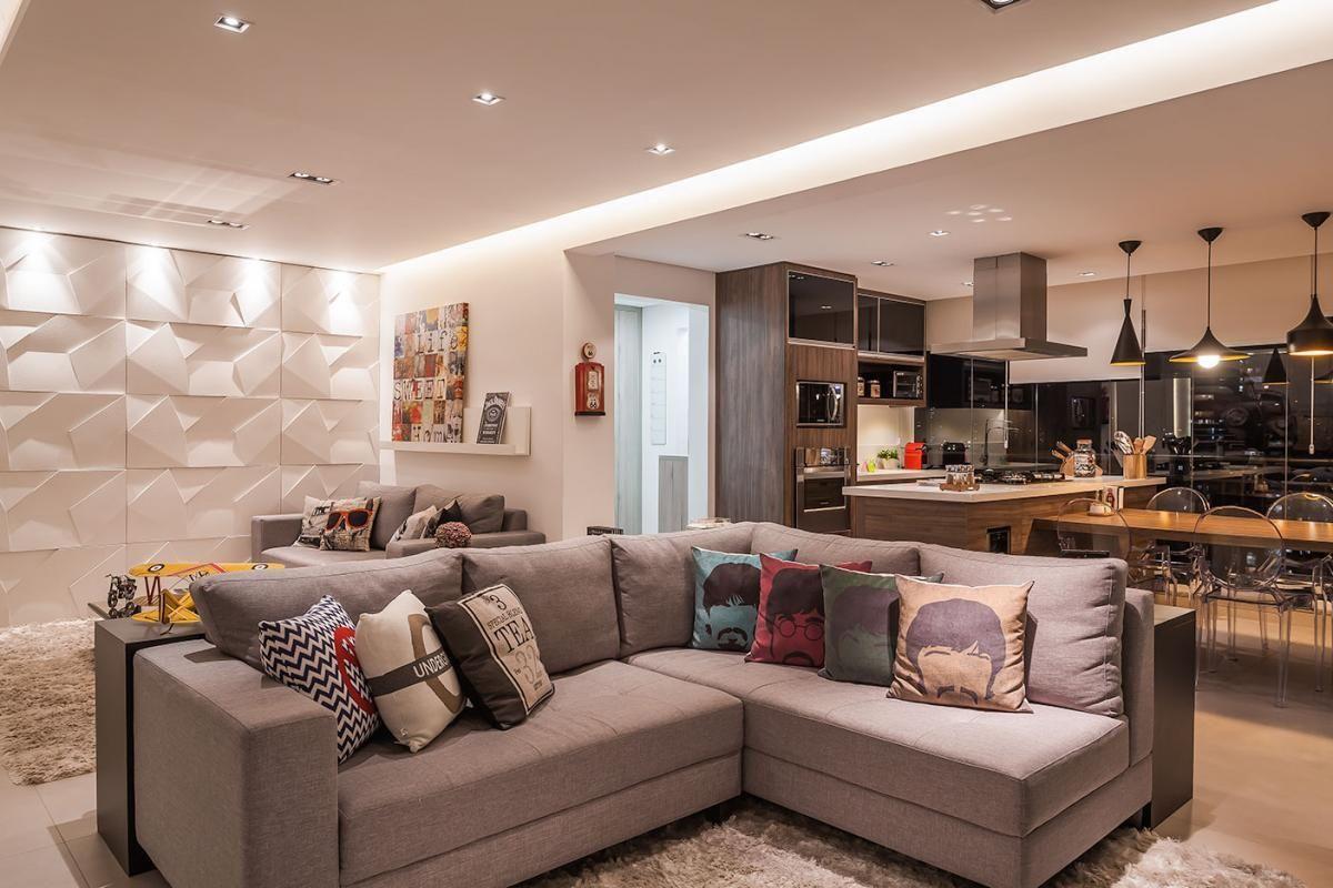 10 lindas salas de estar com decora o atual jeito de for Sala de estar the sims 4