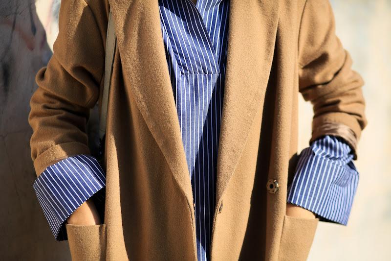 рубашка в полоску для стильного образа
