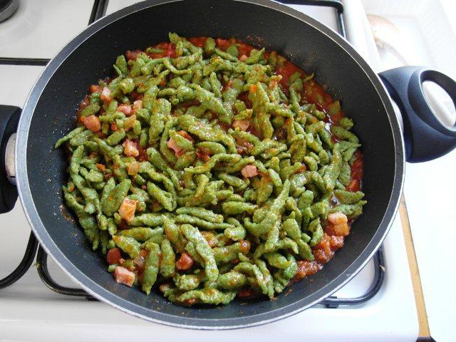 Ilfogolar sp tzle di spinaci - Come cucinare gli spatzli ...