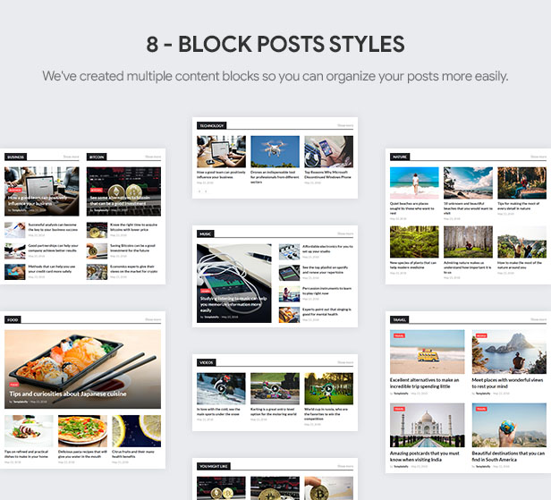 Block Posts