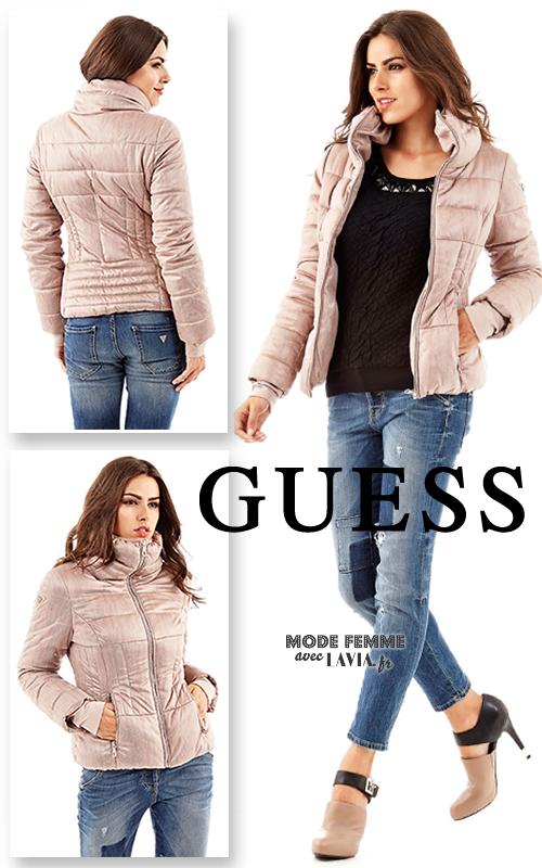 Veste guess femme rose – Vestes élégantes populaires