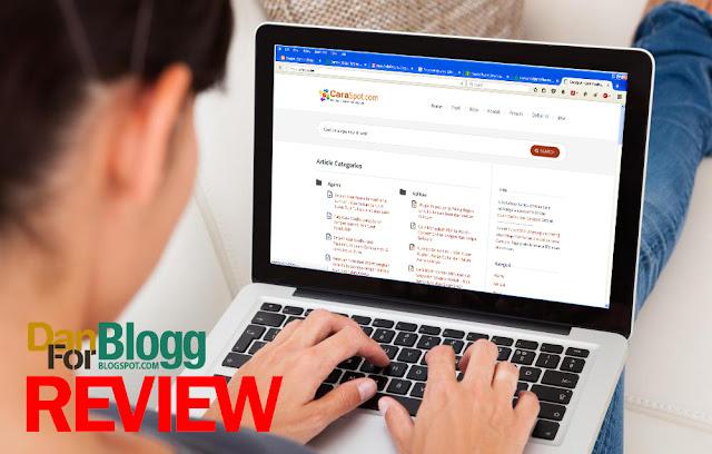 Caraspot – Blog Cara Membuat Blog, Email dan Resep Masakan
