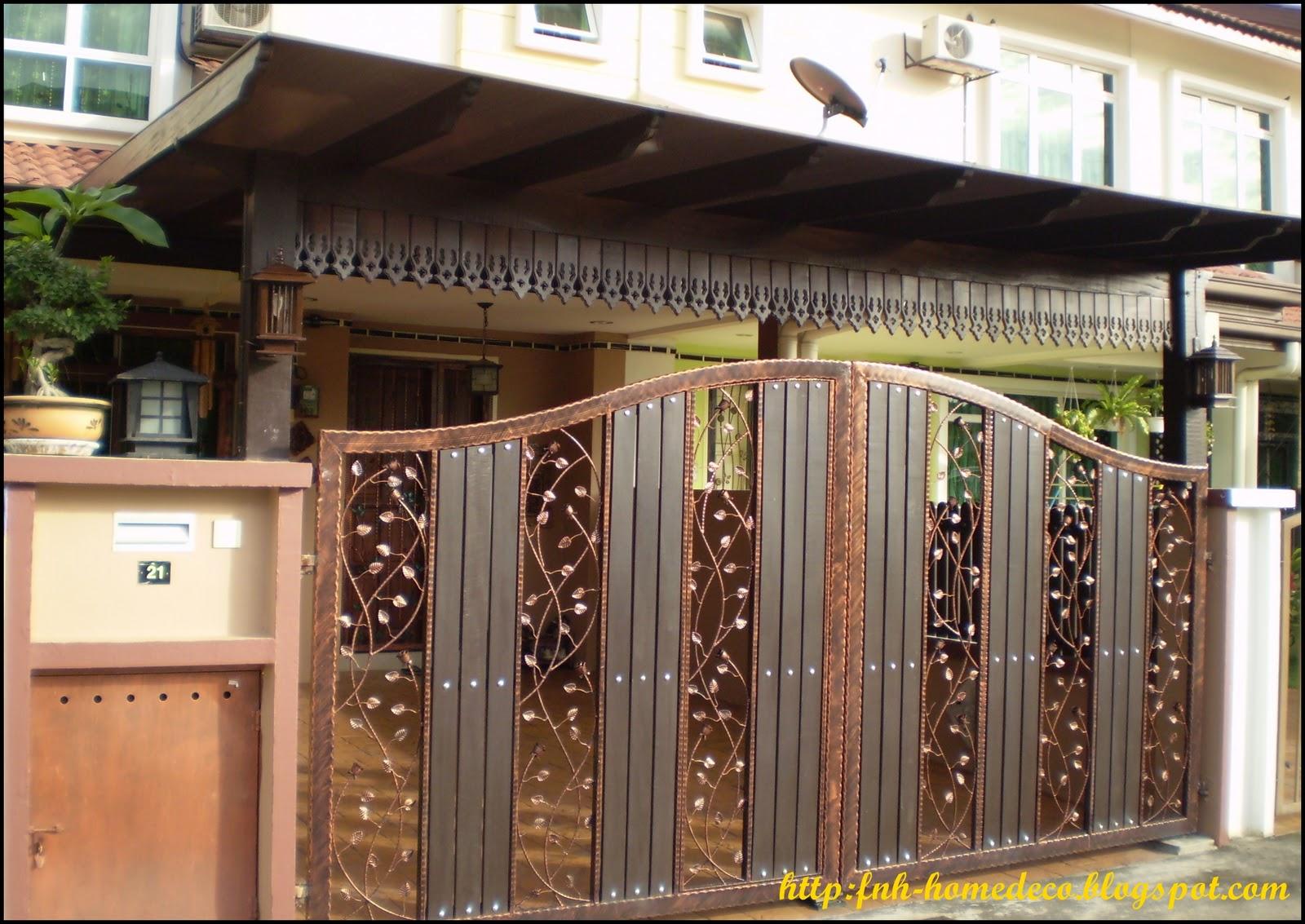 Bengkel Las Alkahfi Iron Work Pagar Rumah Kombinasi