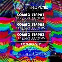 Combos Estéreo Picnic 2018