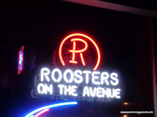 roosters neon