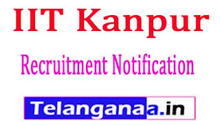 IIT Kanpur (Indian Institute of Technology Kanpur) Recruitment Notification 2017