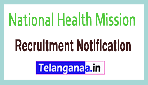 National Health Mission NHMAP Recruitment