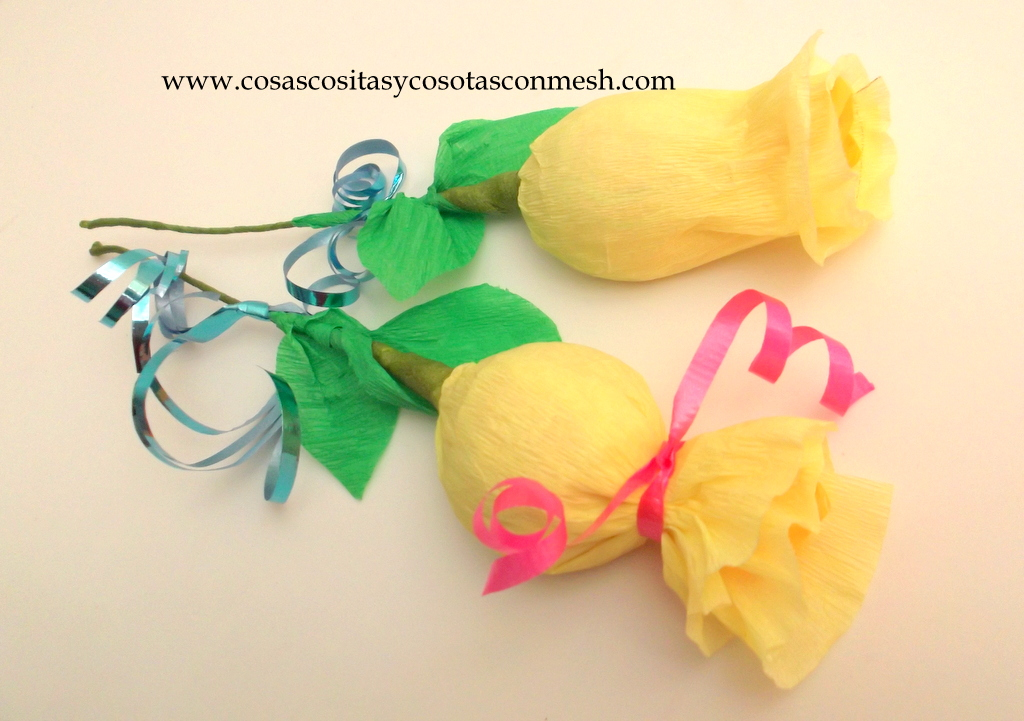 Como Hacer Flores Con Chocolate Cositasconmesh
