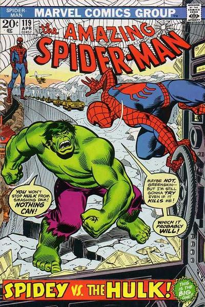 Spider Man Reviewed Amazing Spider Man 119 The Hulk In