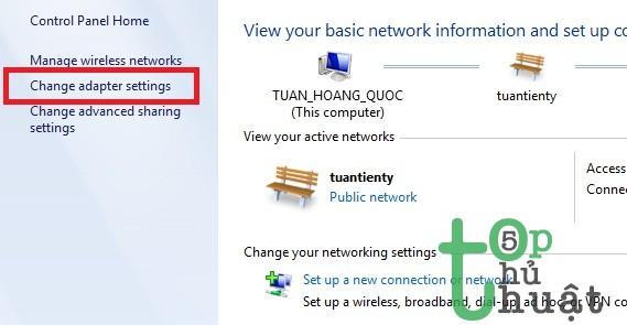 Đổi DNS cho Windows