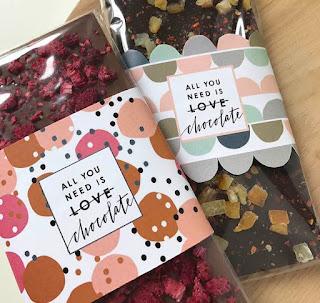 Envoltura de chocolate para San Valentín (Imprimible+Gratis)