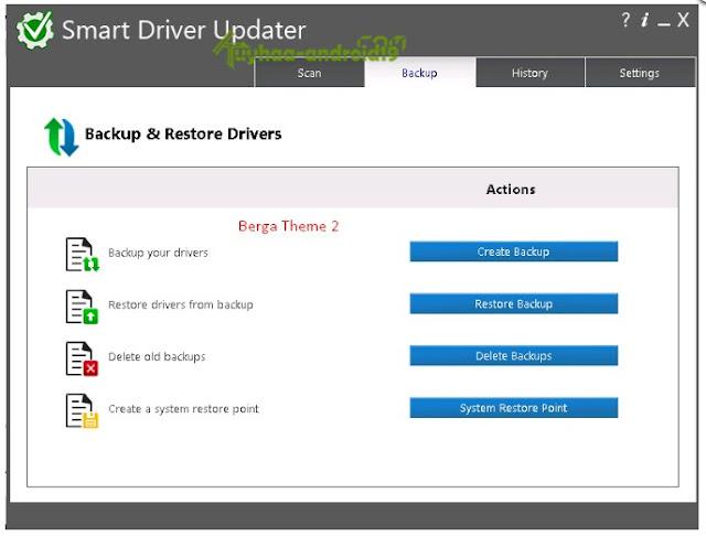 Software Driver PC Atau Laptop Automatis menggunakan Smart Driver Updater 4.0.5 Build 4.0.0.1933 + Portable