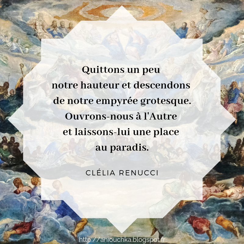 Concours pour le Paradis de Clélia Renucci