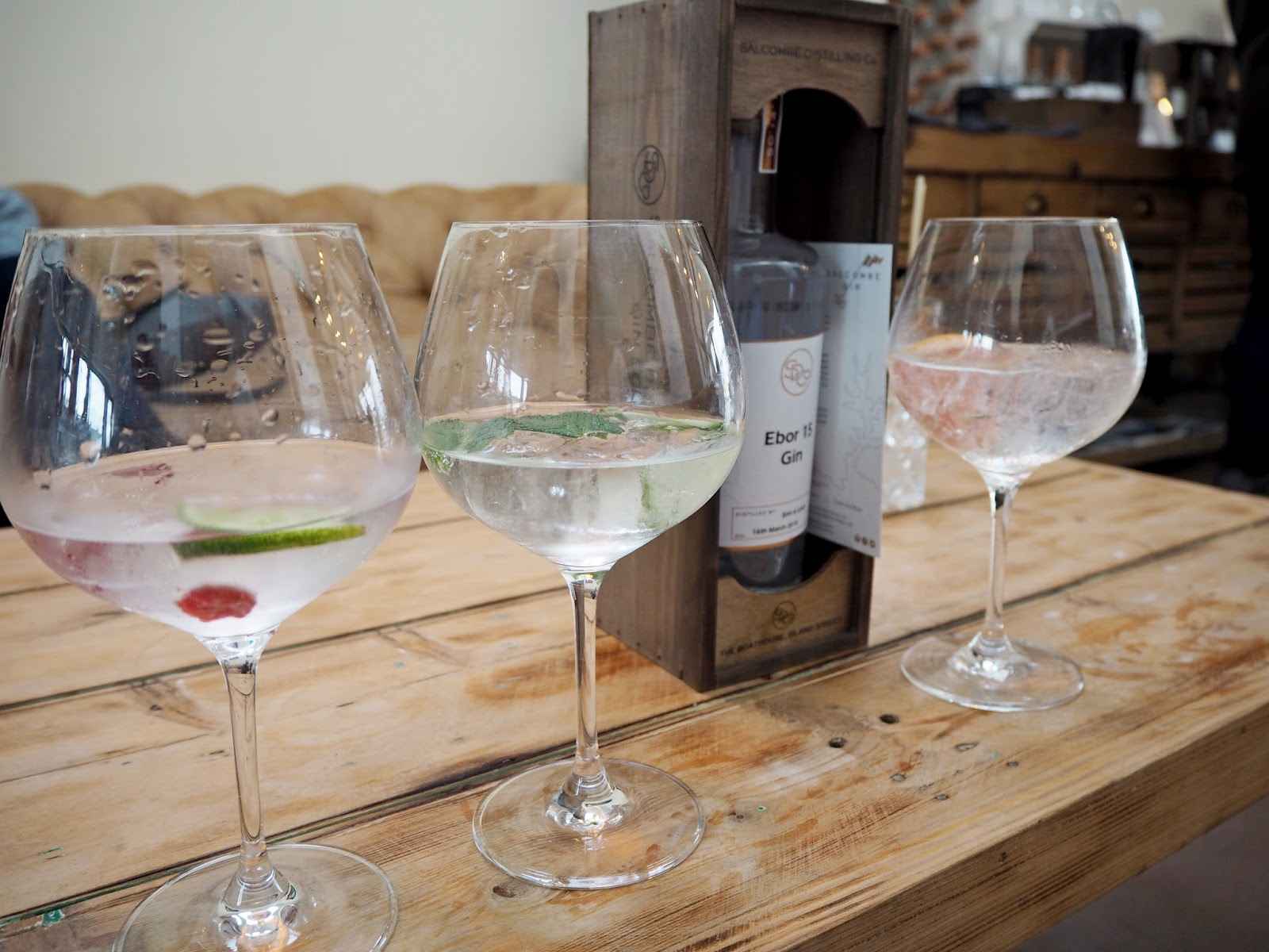 Salcombe Gin Distillery Tasting and Making Experience