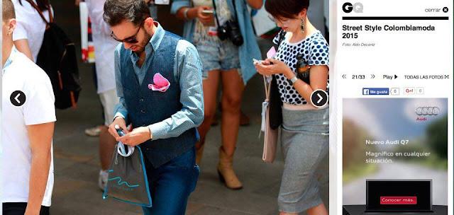 Mejor Bloguero moda Colombia