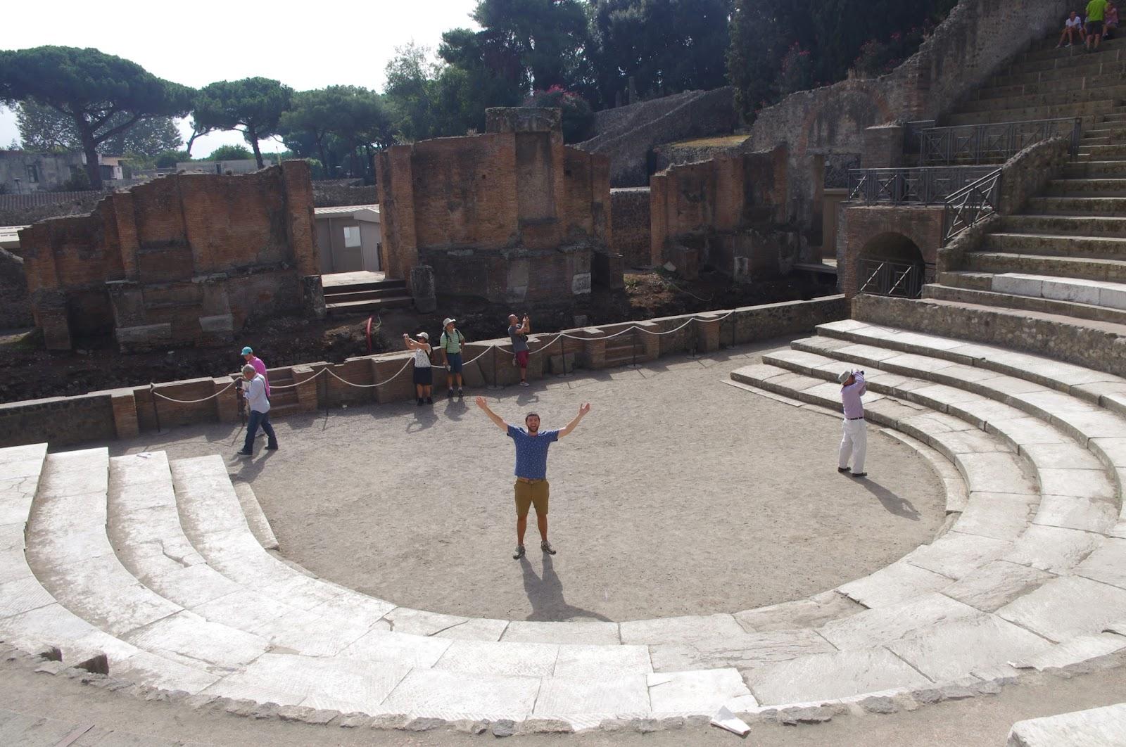 Amphitheater in Pompeii