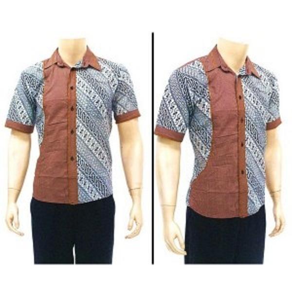 Gambar Baju Batik Kantor Pria: Model Baju Batik Terbaru Muslim Pria Wanita Atasan Untuk