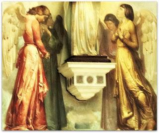 Anjos em Atitude Recolhida - Aldo Locatelli, Catedral Metropolitana de Porto Alegre
