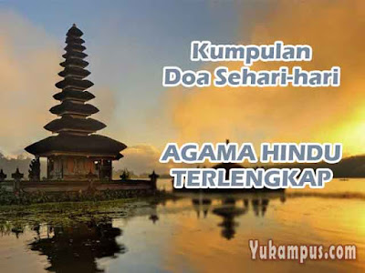 doa sehari hari agama hindu