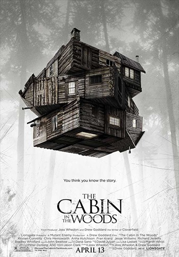 The Cabin In The Woods 2012 Dual Audio Hindi Full Movie Download