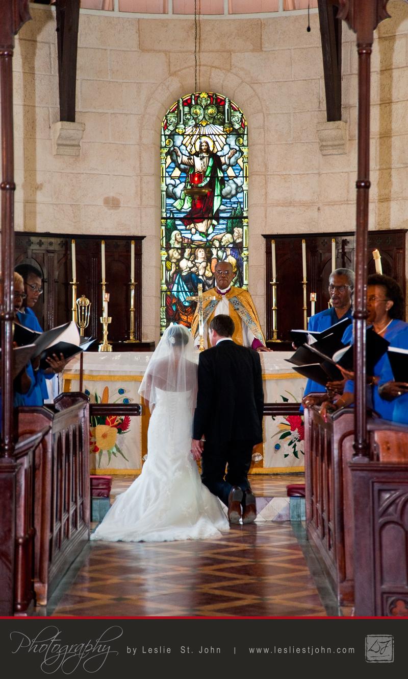 At the Altar in St. James Parish Church