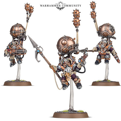 warhammer age of sigmar miniatures karadron overlords skyrigers