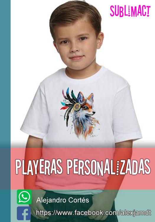MOCKUP PARA PLAYERAS BLANCAS DE NIÑO