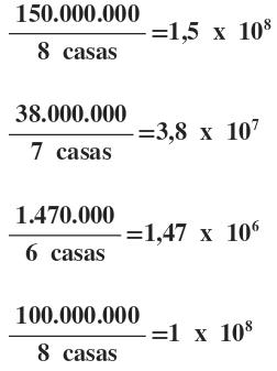 Resultado de imagem para notação cientifica exercicios