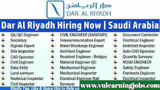 Dar Al Riyadh Consultants - Jobs In Saudi Arabia 2019 - Riyadh Smart City
