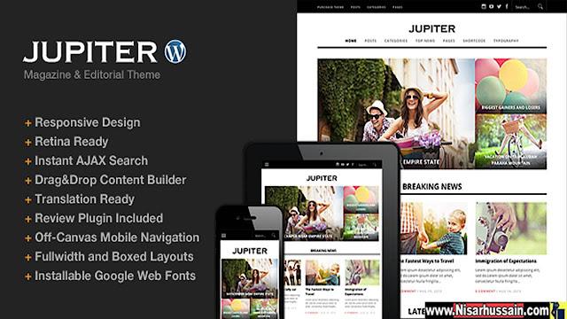 Jupiter Theme Premium Free Download