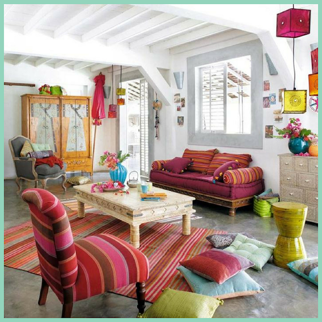 Ideas para una decoración Boho Chic-16