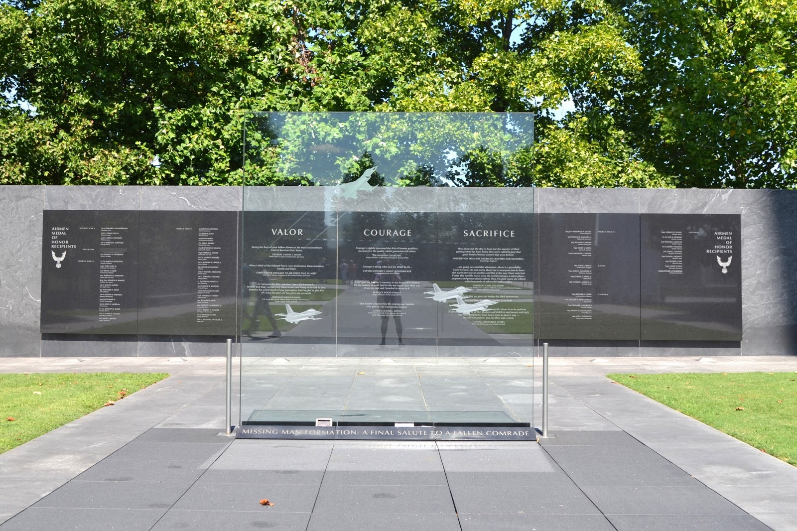 My Paisley World: The US Air Force Memorial
