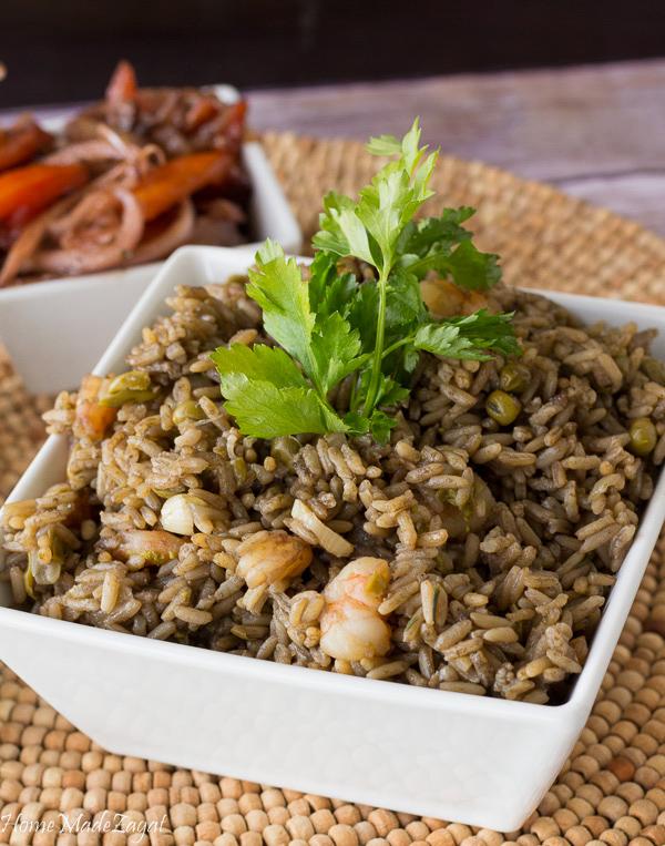 Djon Djon - Haitian Rice