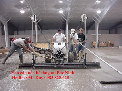 Xoa nền bê tông tại bắc ninh