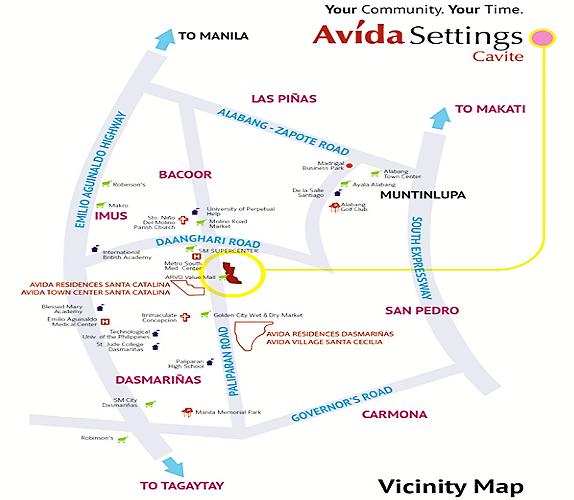Avida South Grove Site Map