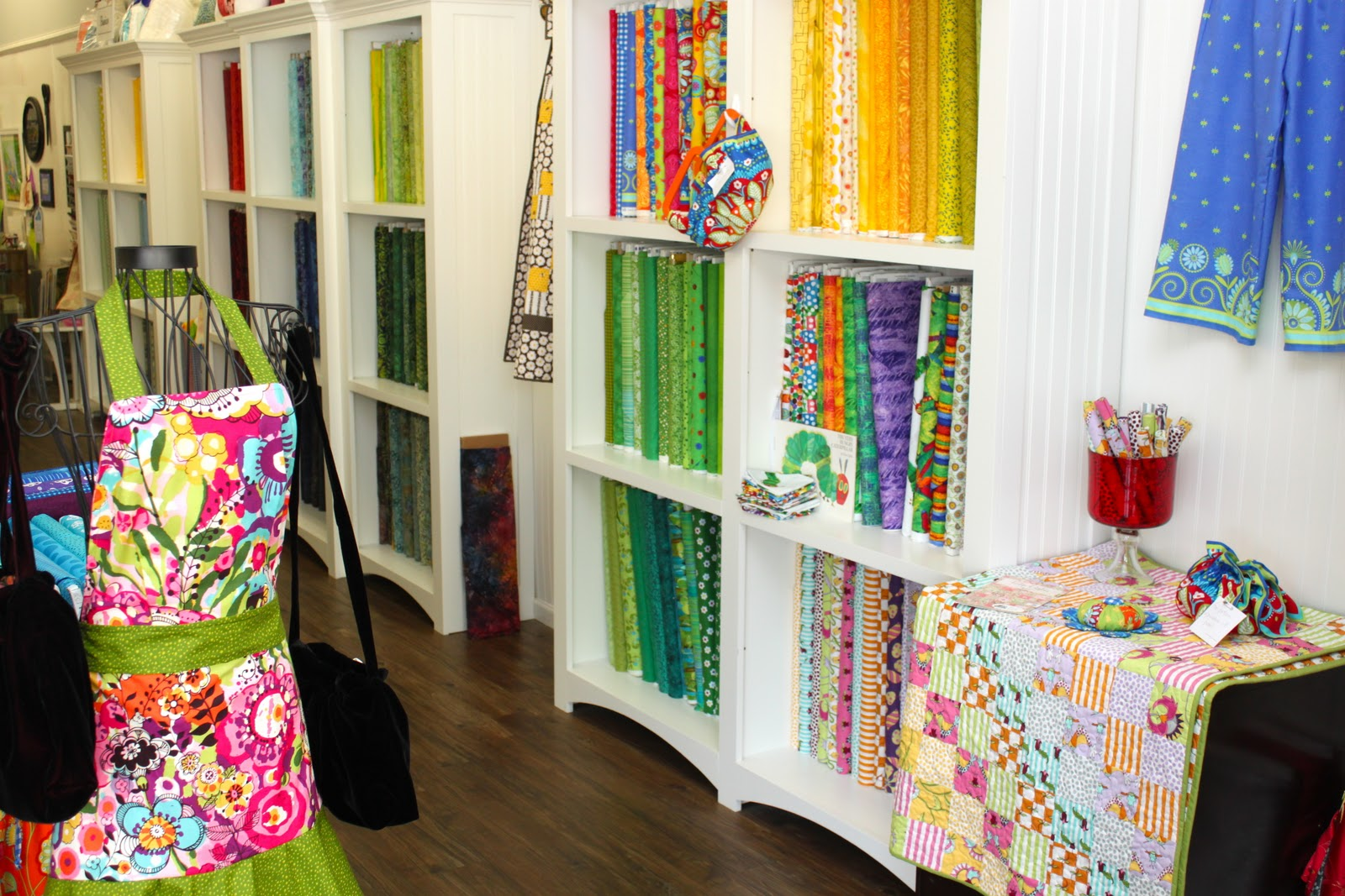 Material Girl Fabric Shop And A Big Announcement