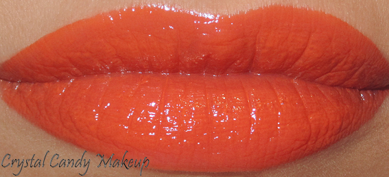Rouge à lèvres Color Sensational 880 Electric Orange de Maybelline - Review - Swatch