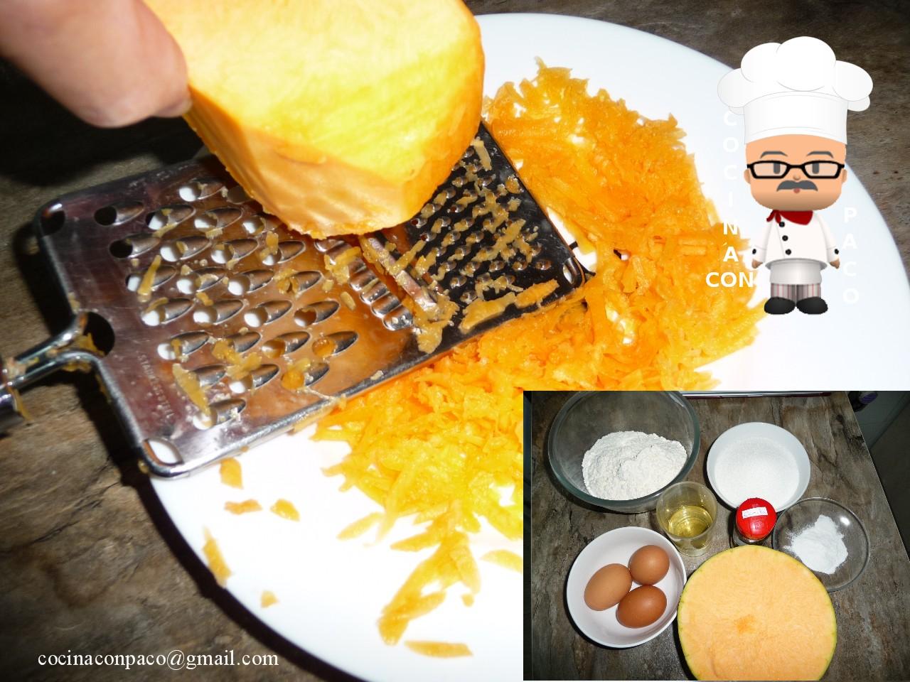 Cocina con Paco: Bizcocho fácil de calabaza
