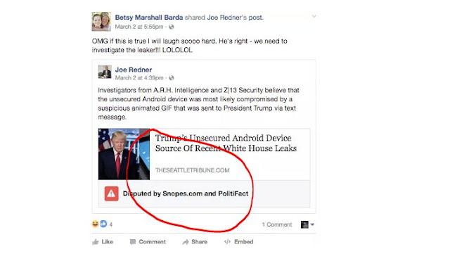 Berita Hoax di Facebook akan Mendapat Tag Khusus Dari Facebook