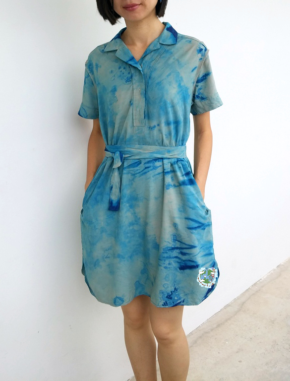 Shibori Upcycling by Agy