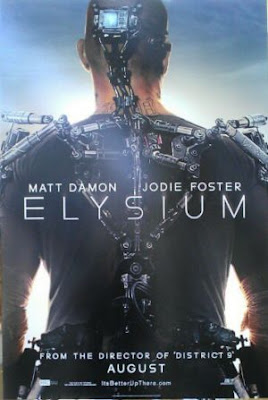 Elysium 2013 Dual Audio 480p 300MB [Hindi - English] BRRip