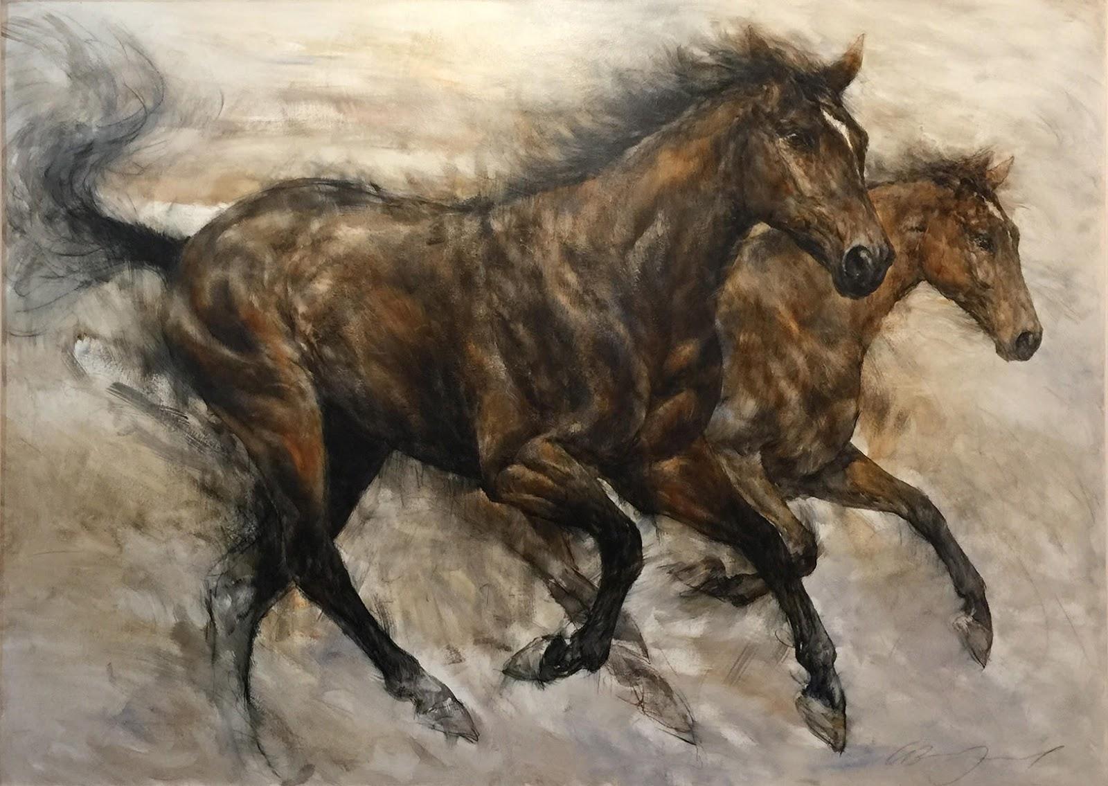 Gary  enfield Horses